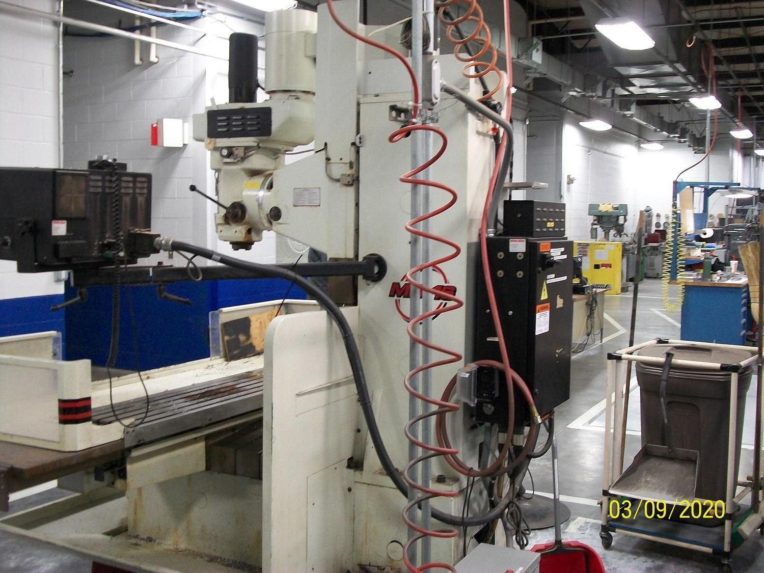 Fryer MB16 3-Axis CNC Knee Mill