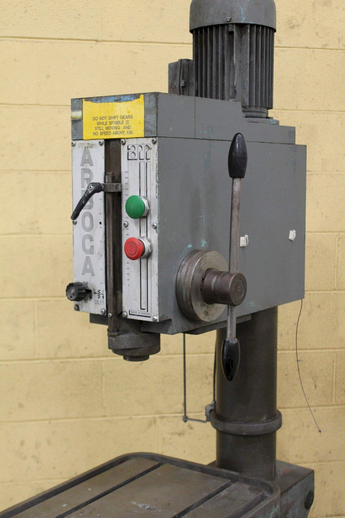 22' ARBOGA MODEL U1 SINGLE SPINDLE DRILL: STOCK #71798