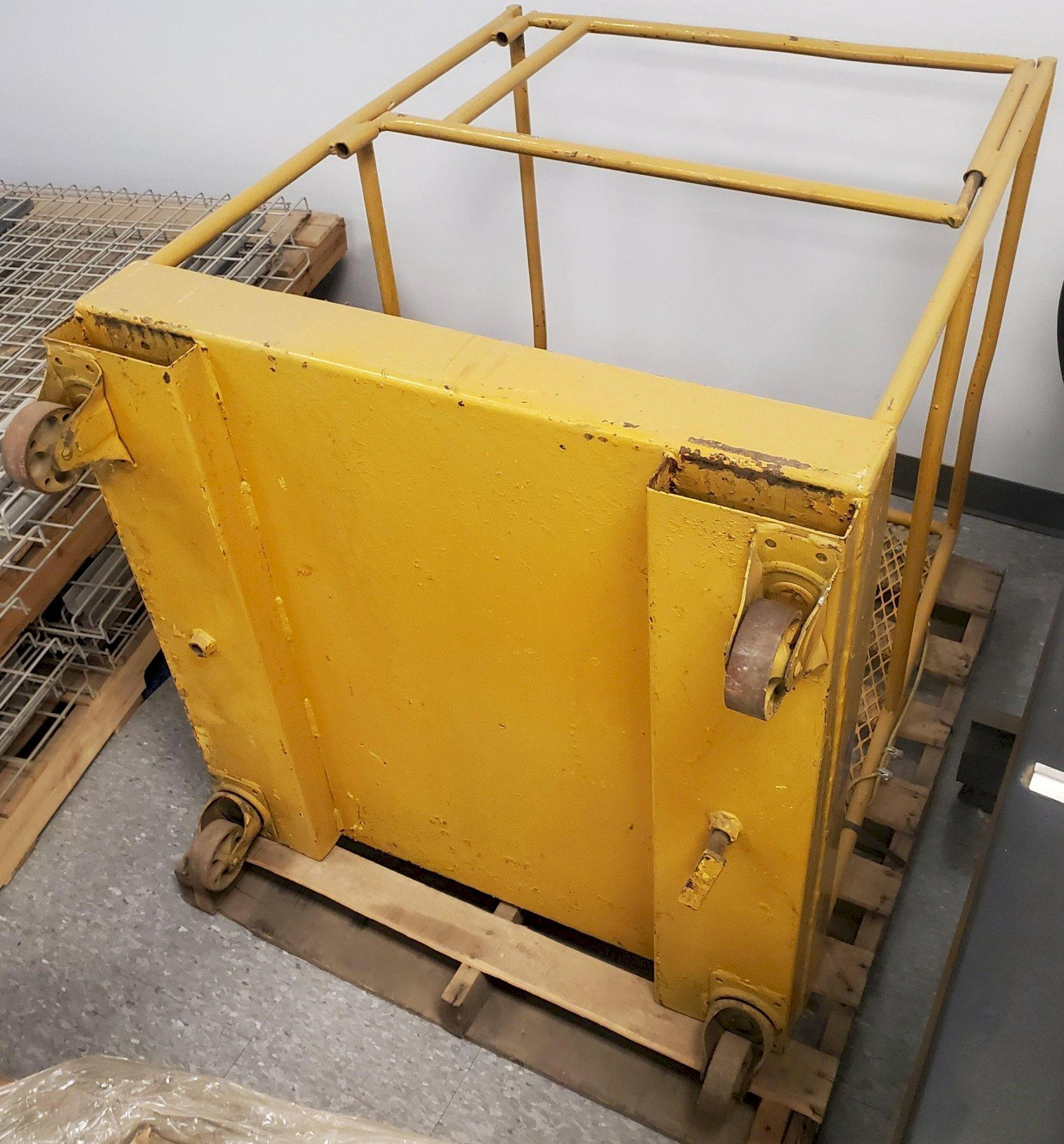 MAN CAGE FOR FORKLIFT STOCK # 2786