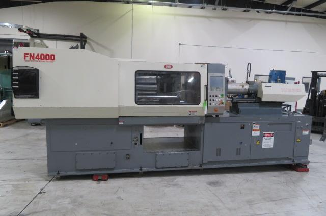 Nissei Used FN4000-12A Injection Molding Machine, 198 US ton, Yr. 2000
