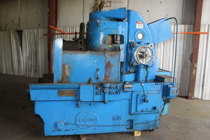 "36"" BLANCHARD MODEL #18-36 ROTARY SURFACE GRINDER: STOCK 10034"