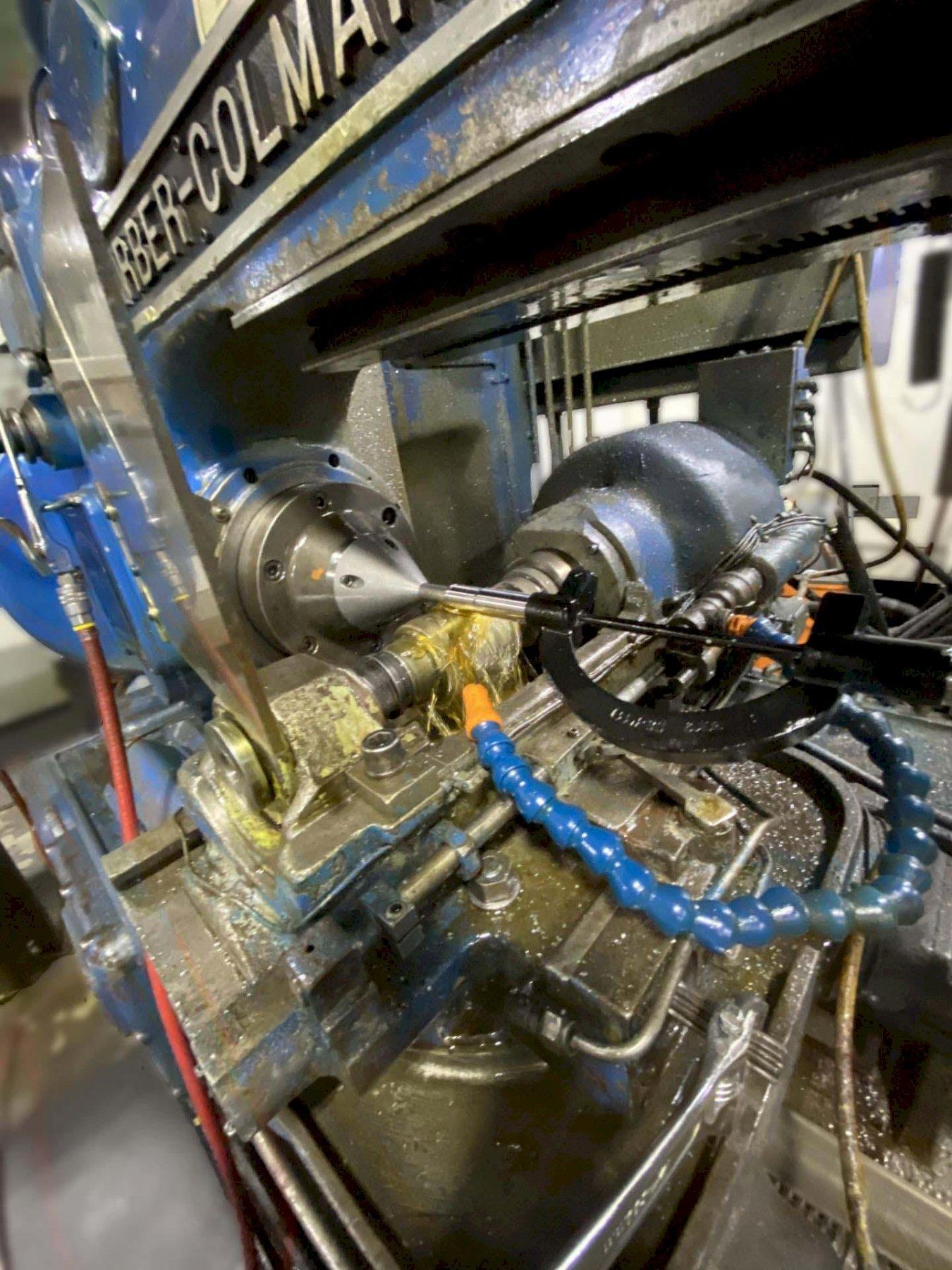 "14-30 BARBER COLMAN HORIZONTAL GEAR HOBBER, 14"" Max Work Diameter, 30"" Max Hob Slide Travel, 6.25"" Max Hob Diameter, Auto Hob Shift, Auto 2-Cut Cycle, Hydraulic Workhead, Hydraulic & Coolant System, New 1970."