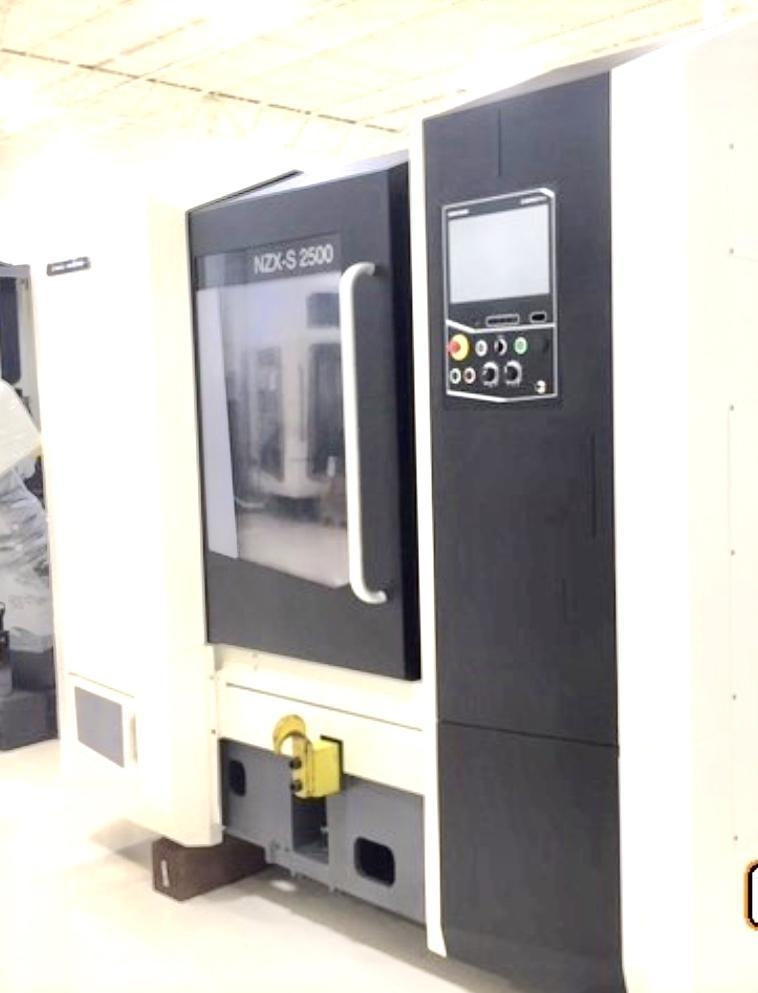 2014 DMG Mori NZX-S2500 4 Axis CNC Turning Center