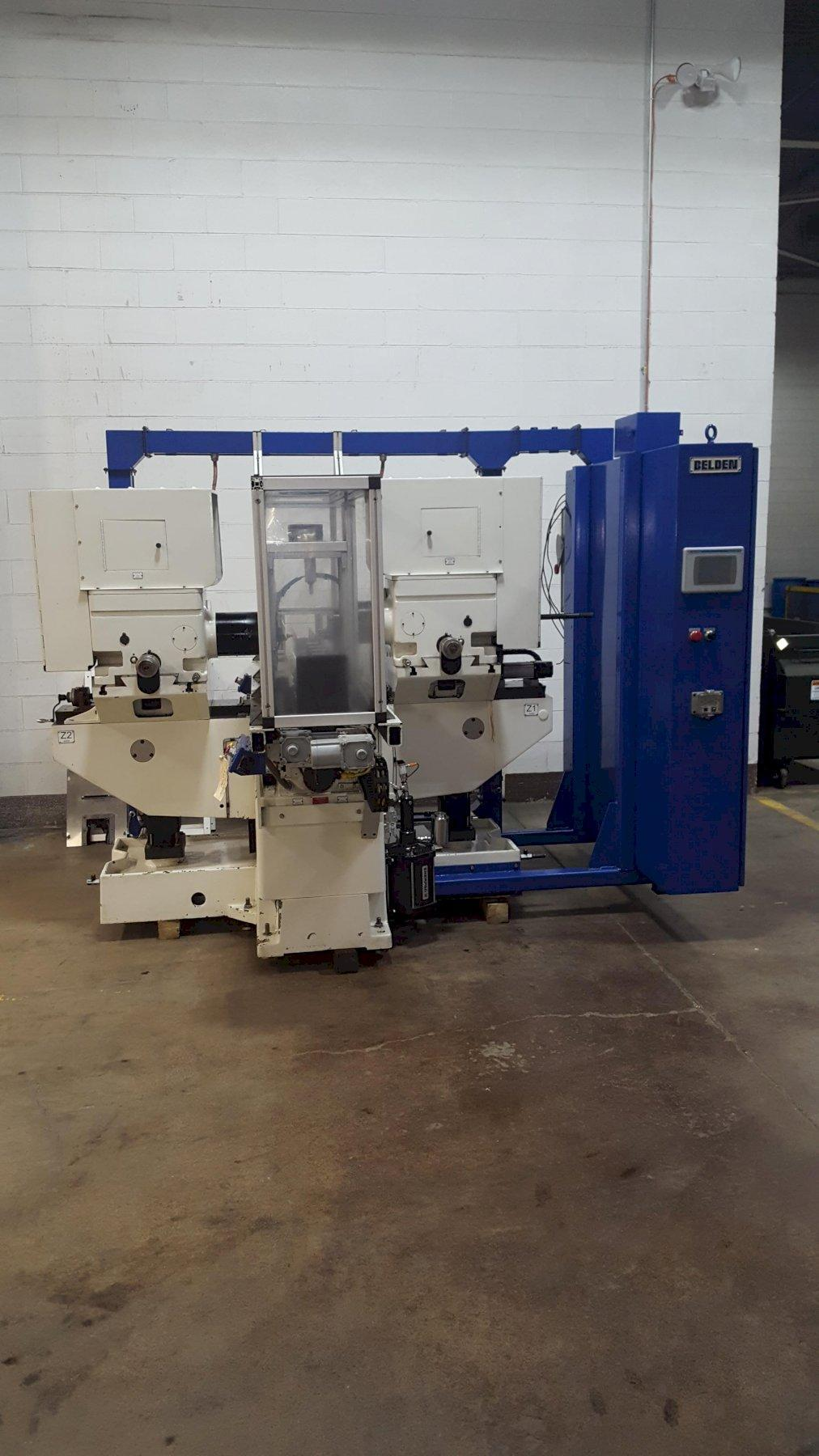 "Nichols ""Big Twin"" Belden CNC Duplex Milling Machine"