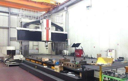 SNK RB-4VM 5-AXIS CNC BRIDGE MILL. STOCK # 0206921