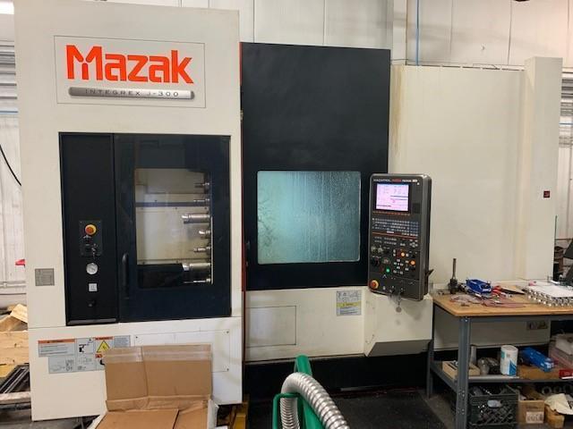 2012 Mazak Integrex J-300 5-Axis CNC Turning Center