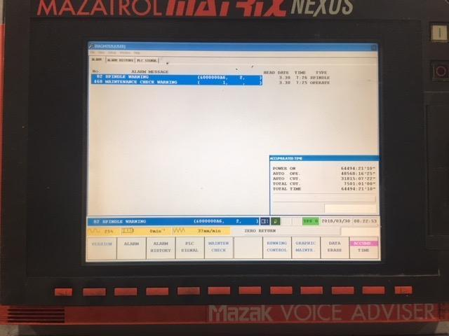 MAZAK NEXUS QTN 250MSY 2006