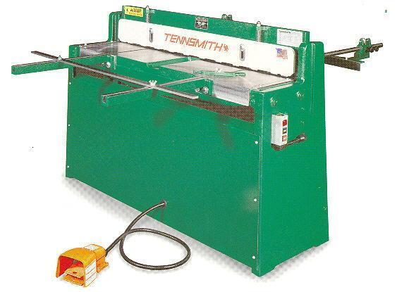 New Tennsmith Air Operated Shear, Model 36A, 36 in. x 16 Ga.