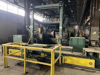 """72"""" x .500"""" x 70,000# Stamco Heavy Gauge CTL Line with Cassette Leveler"""