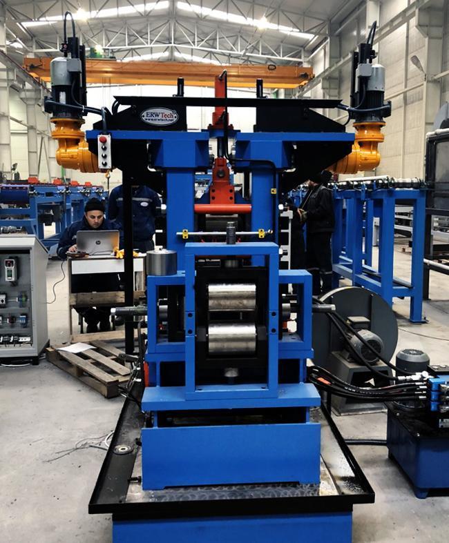 New 11.8″ (300 mm) ERWTech/UCG Rolling Mill