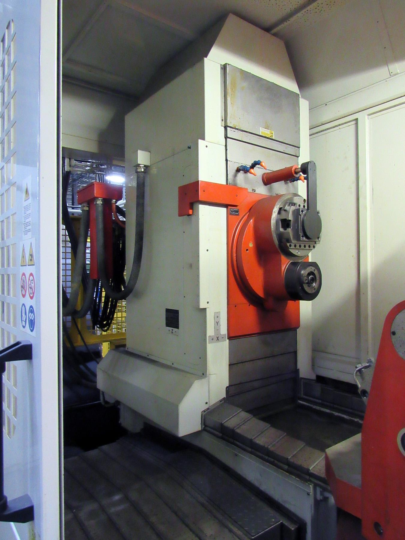 GT TREVISAN MODEL DS300/70C 8 AXIS CNC HORIZONTAL MACHINING AND TURNING CENTER