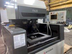Mitsubishi FA20 CNC Wire EDM, W21A Control, 20