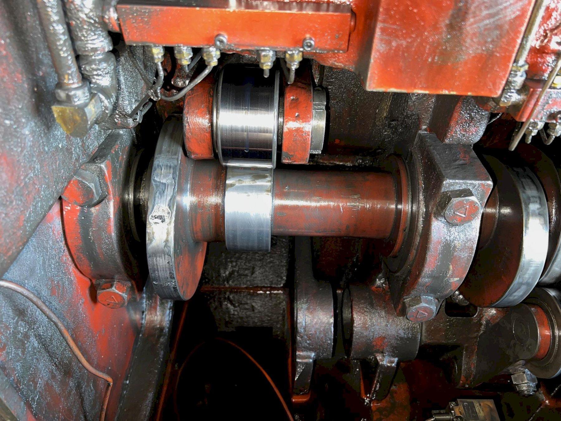 National Model 320 High Speed Roller Header