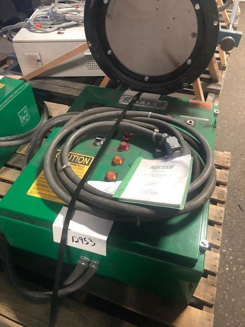 RAYTEQ MODEL DT500 500# PER HOUR MELT RATE ELECTRIC LADLE WITH POWER SUPPLY S/N 478, 1500# CAPACITY