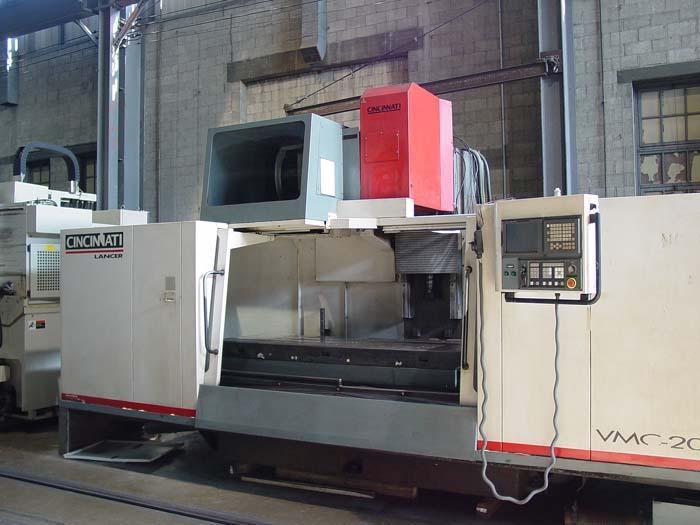 Cincinnati Lancer-2000 CNC Vertical Machining Center