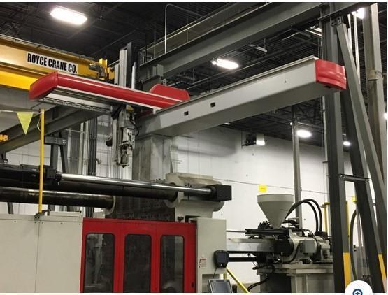 Cincinnati SEPRO-CM-GIV 4060 S3 Used Servo Robot, Fits Approx. 1300-2500 ton machine, Yr.  2014