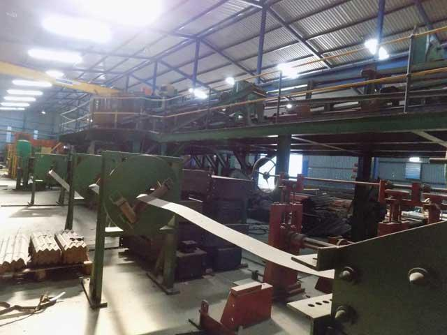 COMPLETE FORMING AND WELDING LINE FOR THE MANUFACTURE OF STEEL BEAMS (13774)