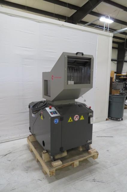 AEC / Cumberland Used FX1018 Granulator, 15hp, 480V, Yr 2018