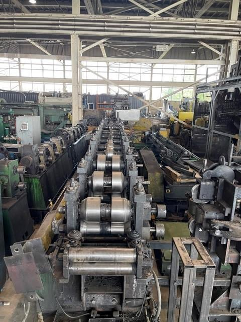 """11 STANDS X 3.500"""" X 0.135"""" AEF TUBE MILL LINE: STOCK #15474"""