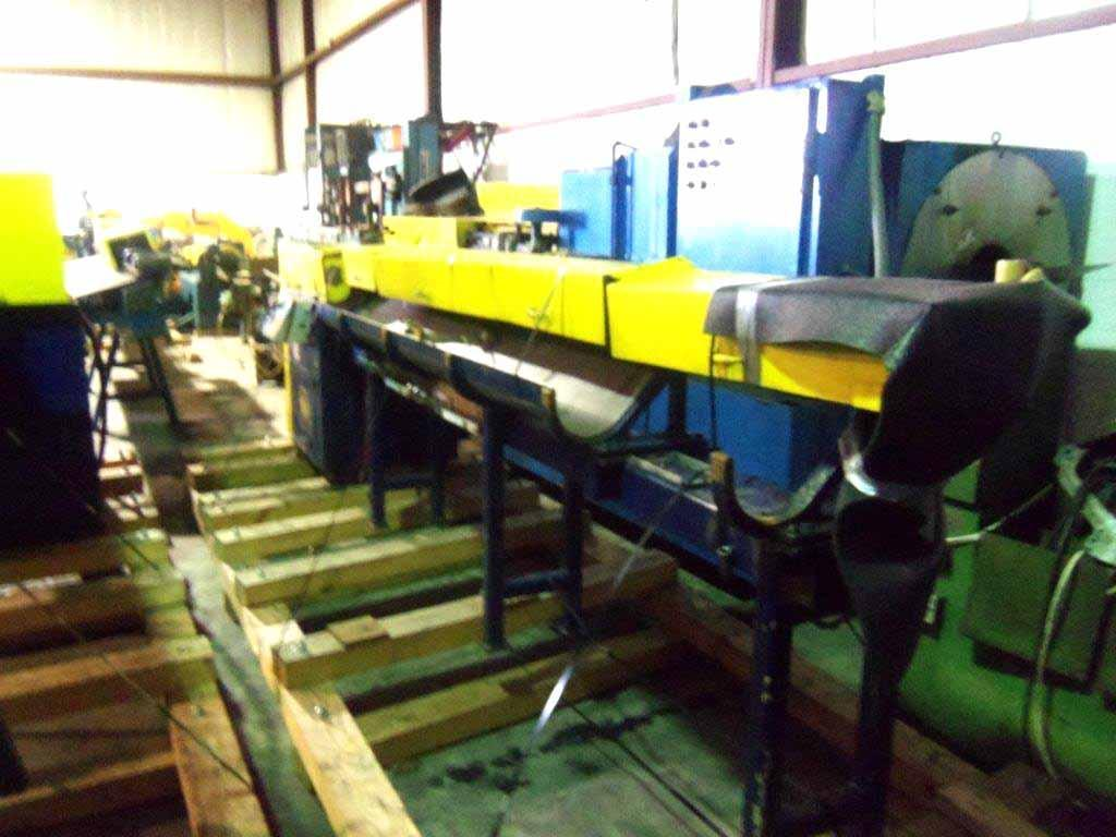 "3/16"" Lewis 2SHV Wire Straighten And Cut Machine"