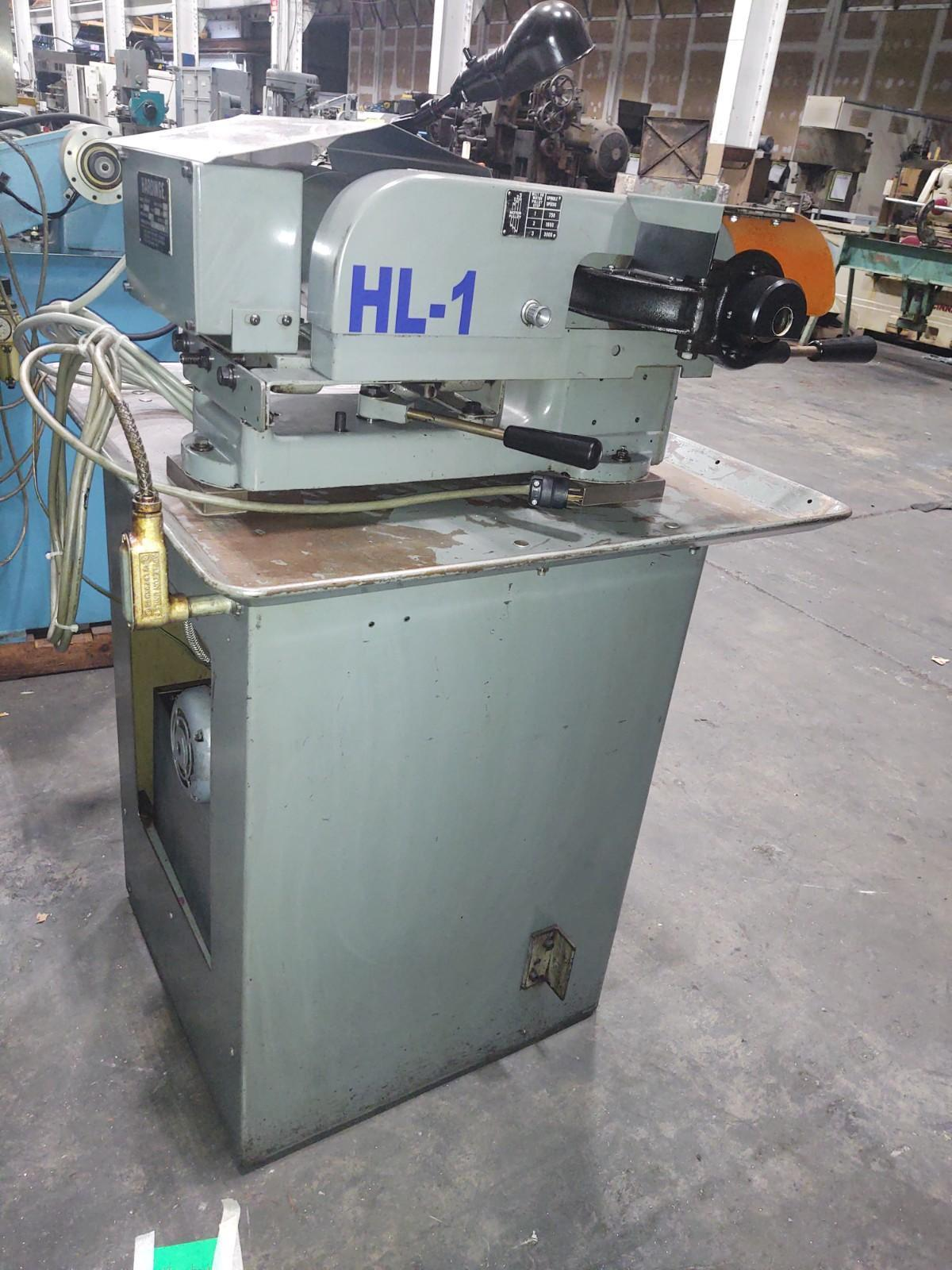 Hardinge Speed Lathe Model HSL-59