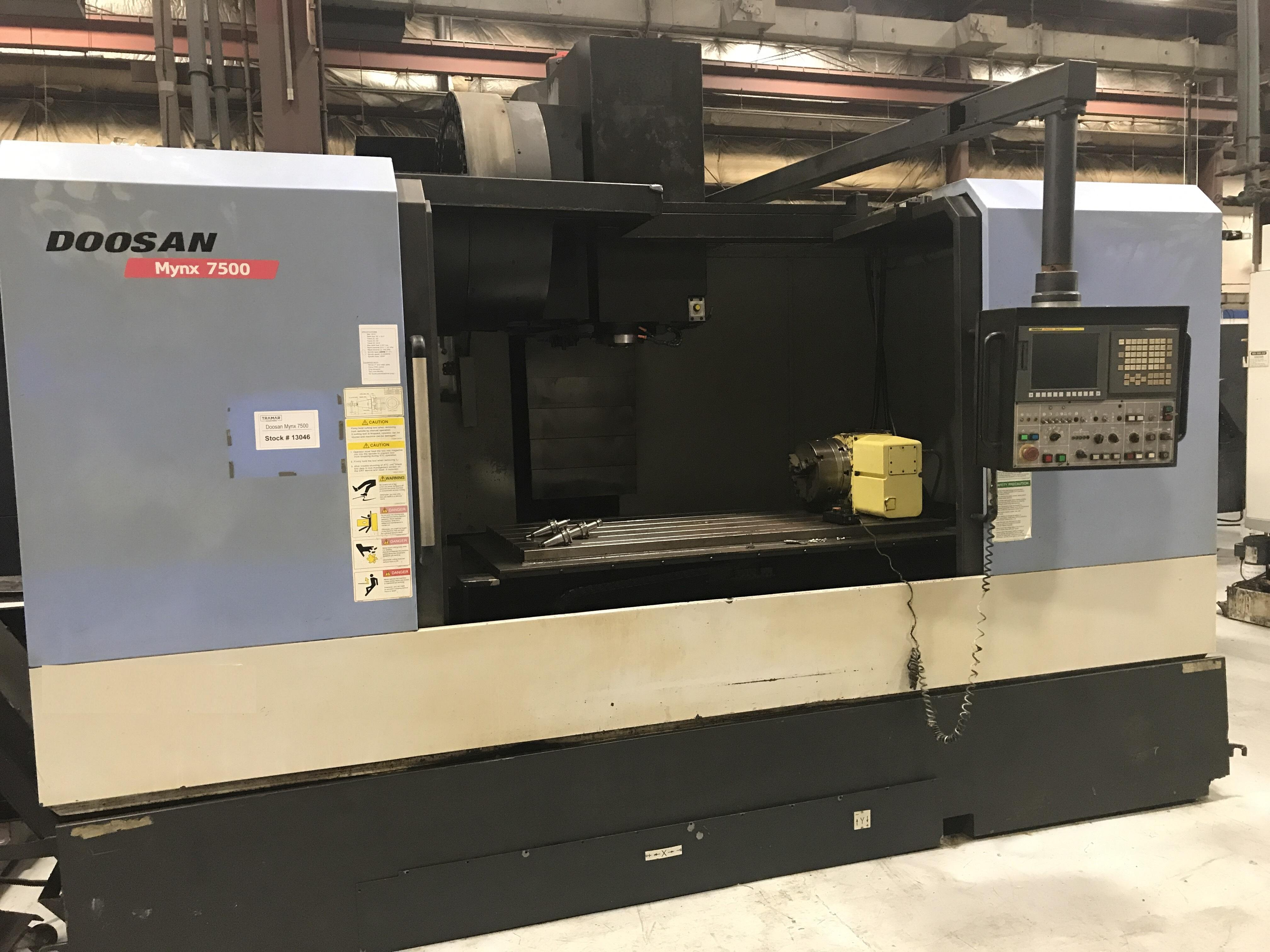 2010 DOOSAN Mynx 7500 - Vertical Machining Center