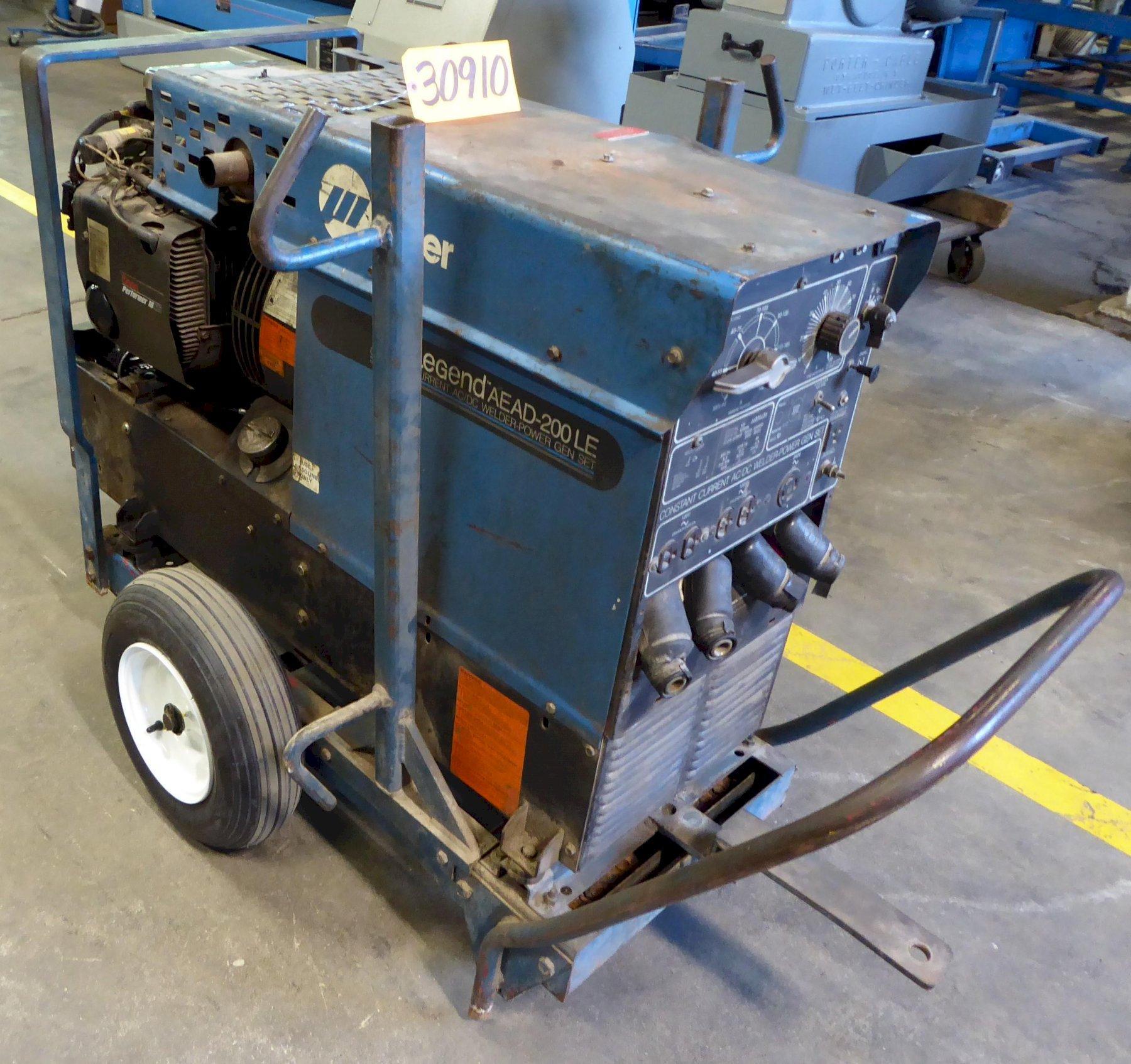 Miller Welder/Generator Legend AEAD-200LE, 225 Amp AC Welder, 4000 Watt Generator