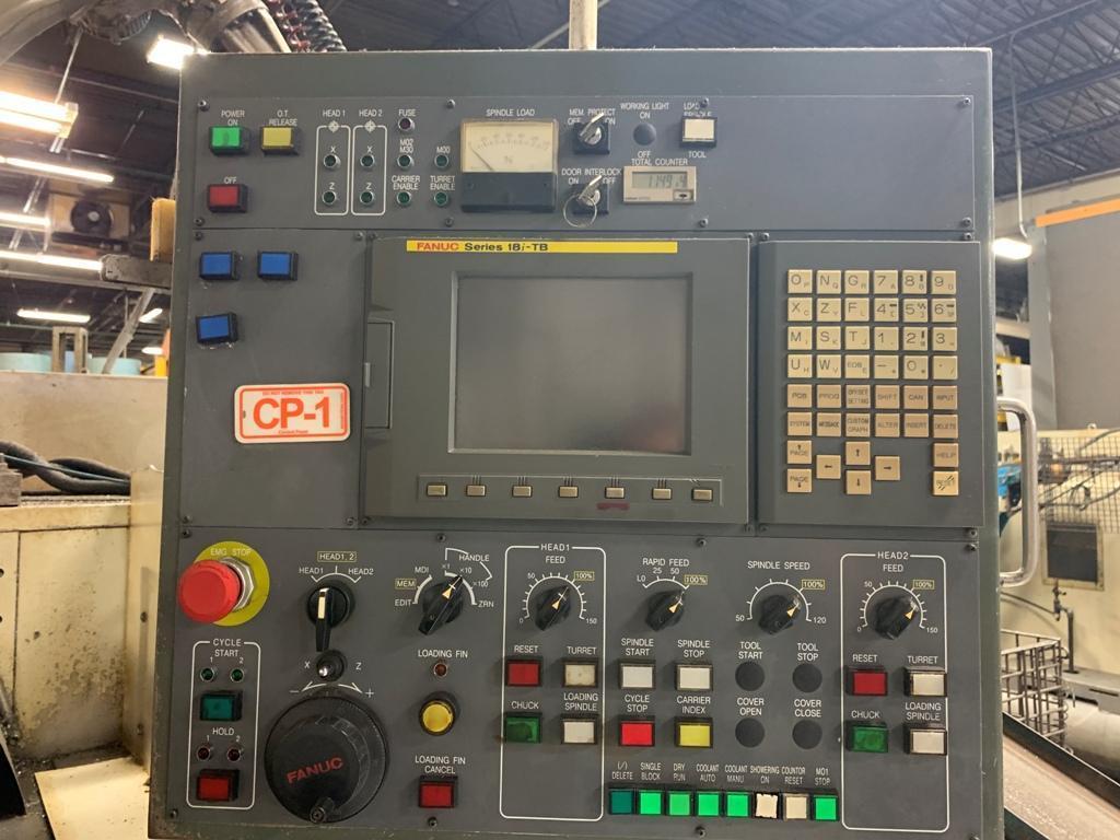 KITAKO MT4-200 4 SPINDLE CNC TURNING CENTER