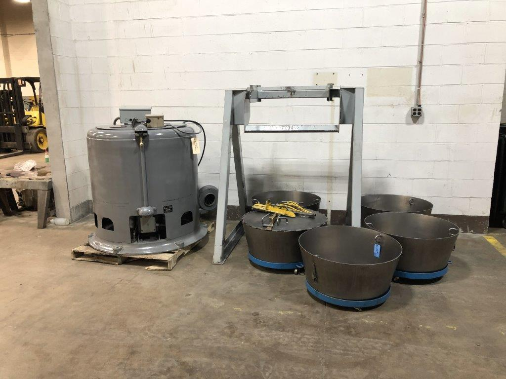 Barrett Model 1100E Automatic Carrier Type Centrifugal Oil Extractor