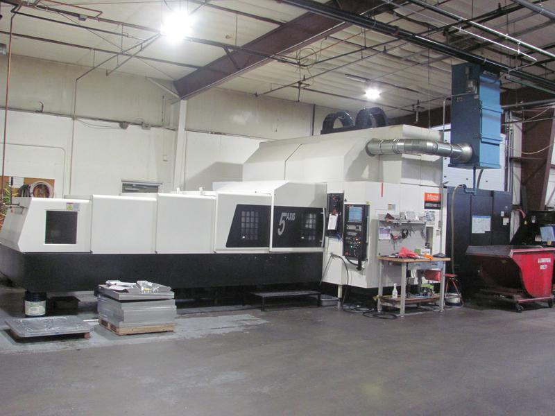 2013/1 Mazak Vortex 5-axis, Model 1400/160M  Vertical Machining Center