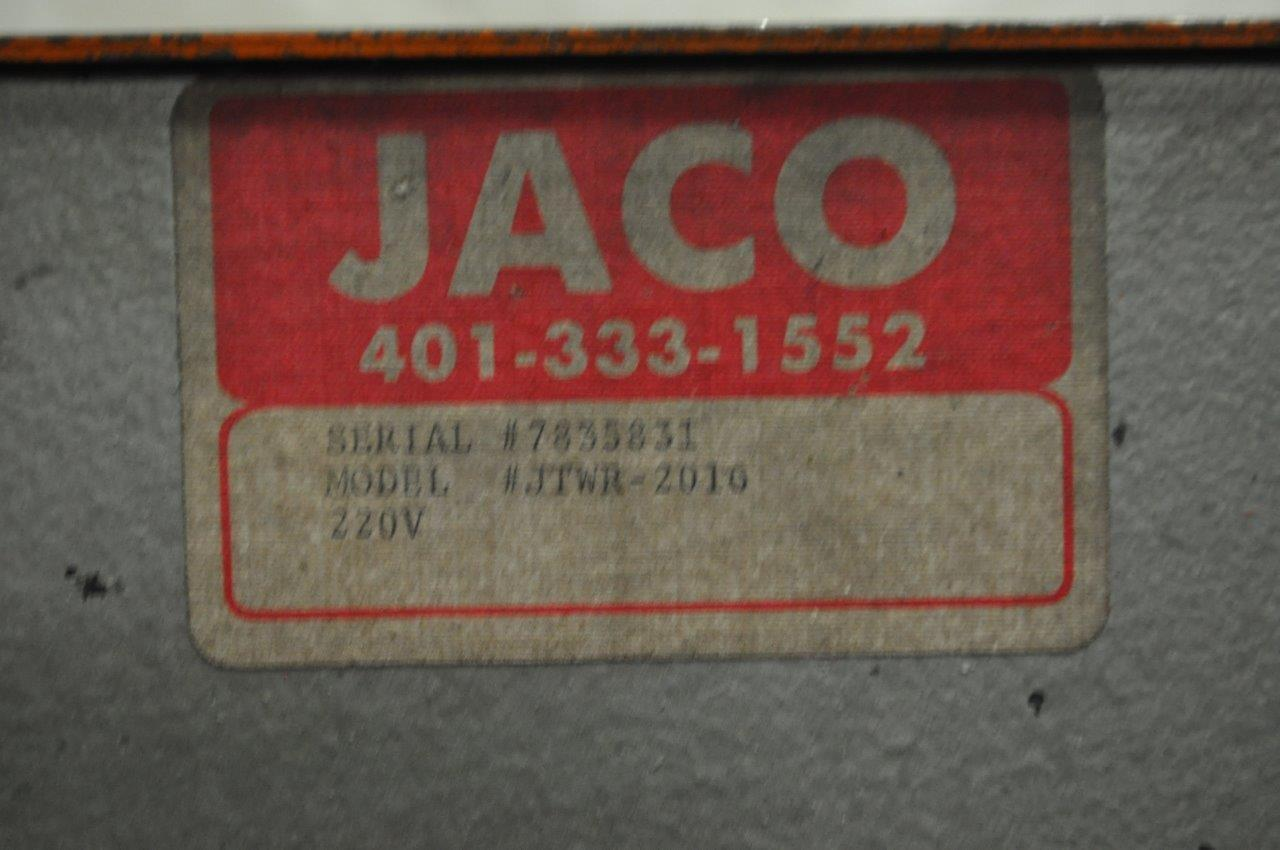 "2000 LB x 16"" Jaco Motorized Uncoiler"