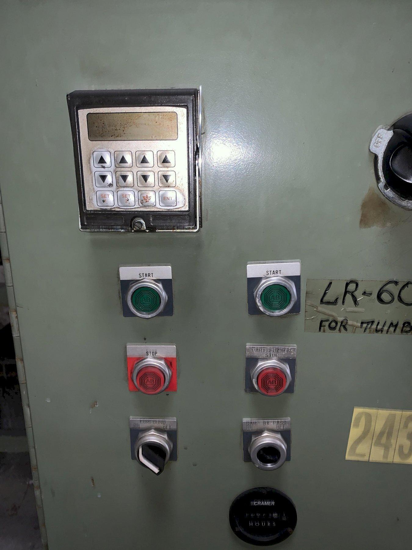 9 CU FT ULTRAMATIC MODEL SVB-10 AUTOMATIC VIBRATORY DEBURRING SYSTEM