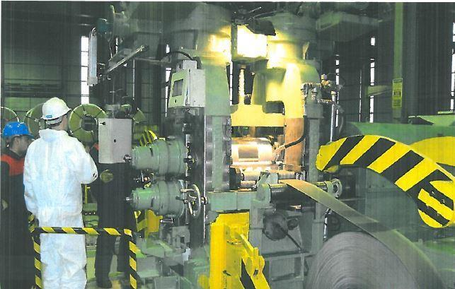 "14"" Achenbach 2-HI Cold Reversing Mill"