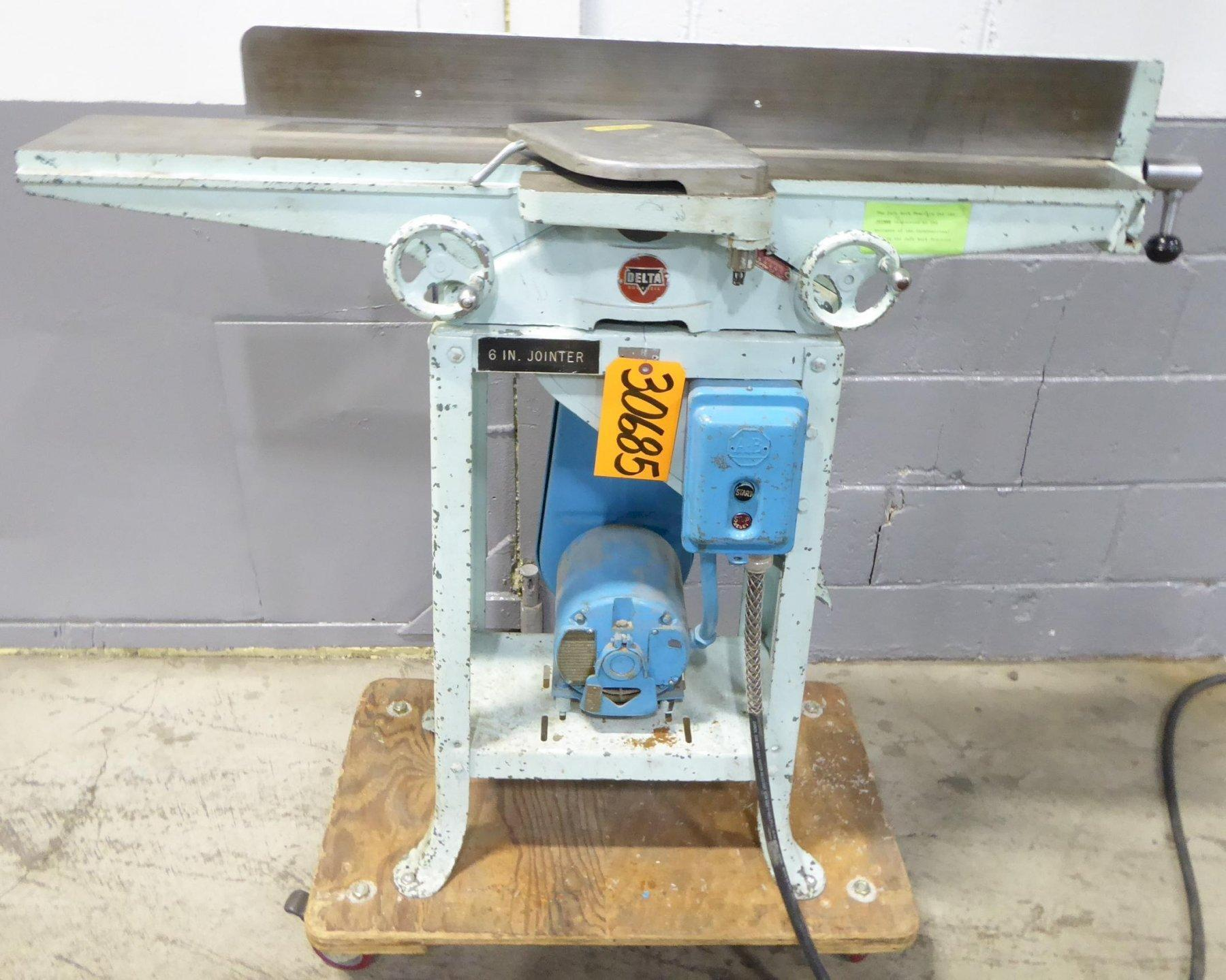 6″ Delta Jointer, Factory Stand