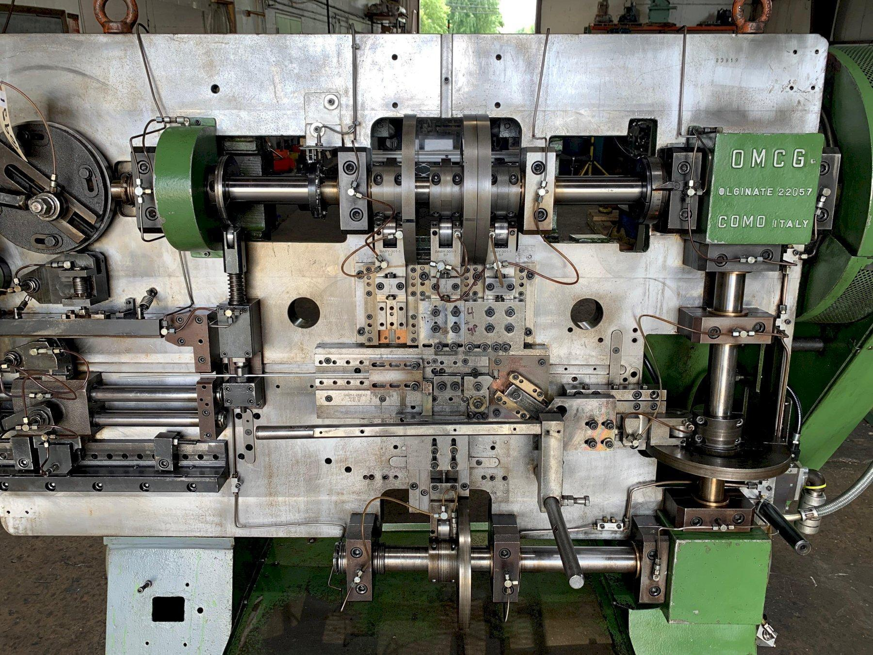 OMCG MODEL 250 WIRE FORMING MACHINE