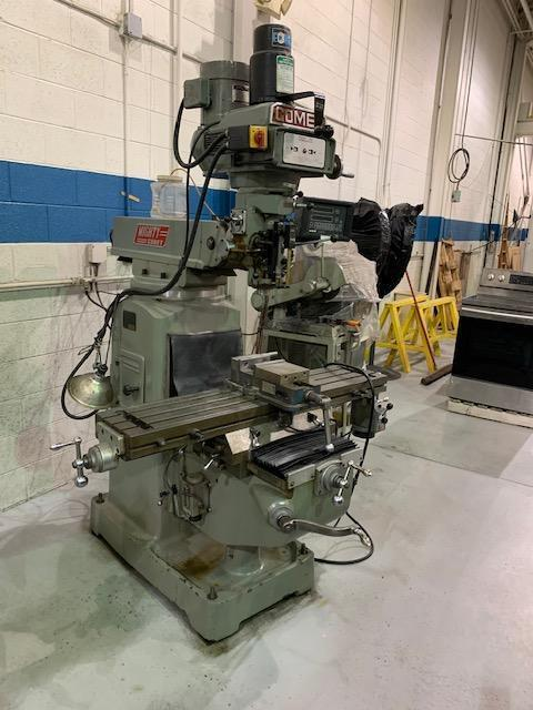 "10"" x 50"" Mighty Comet 3KVHD Vertical Milling Machine"