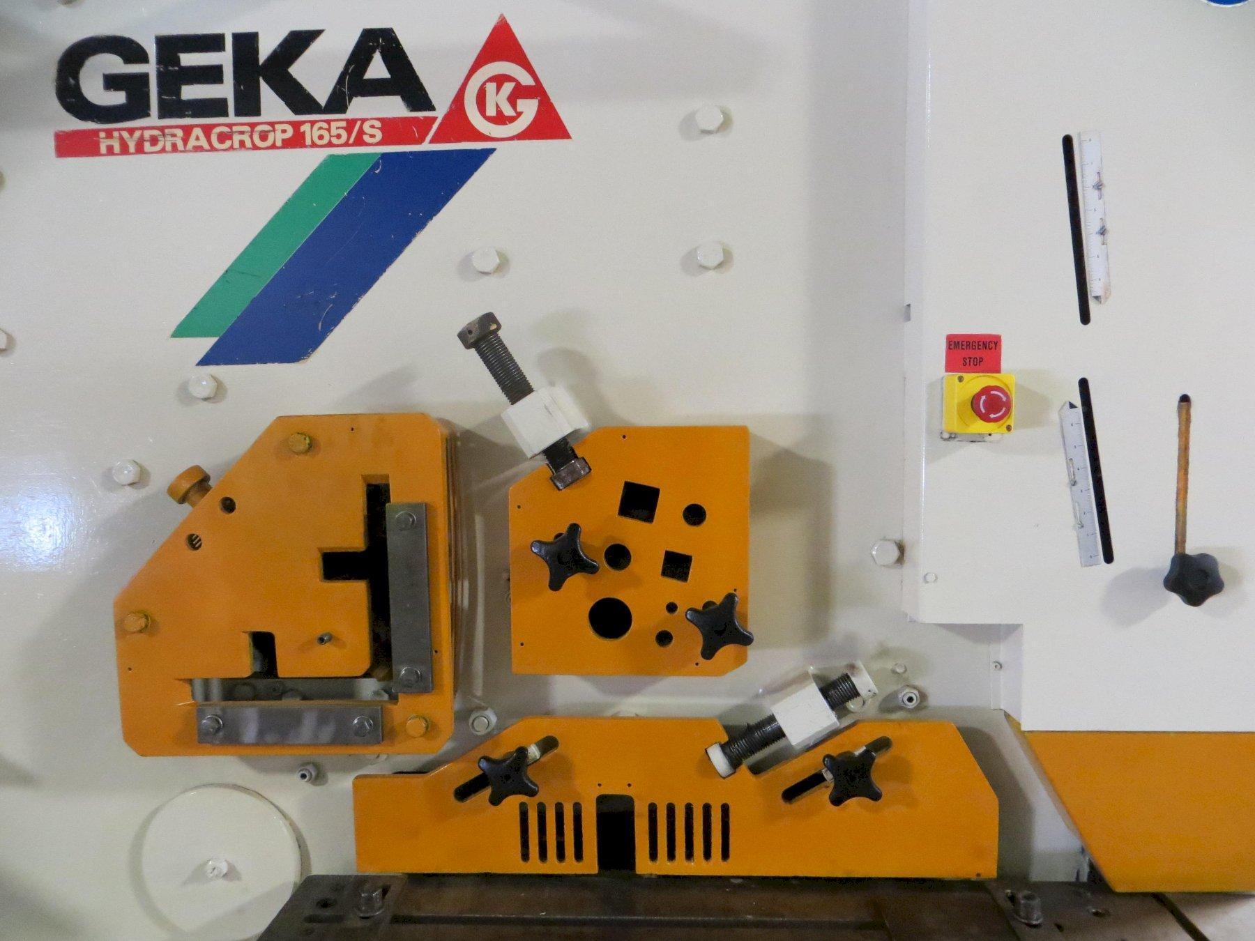 185 Ton Geka Hydraulic Ironworker Model 165S