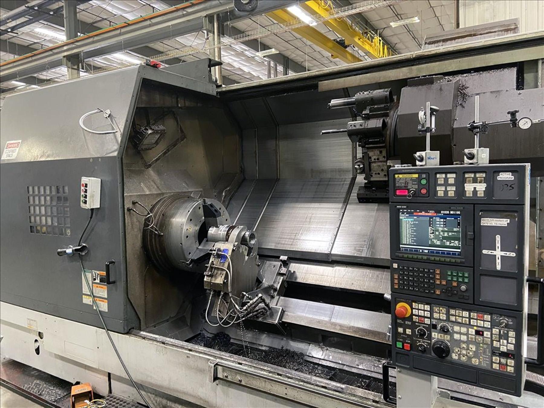USED, MORI SEIKI SL-603CMC/3000 CNC TURNING CENTER WITH LIVE TOOLING