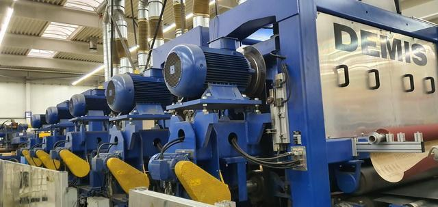 """63"""" (1600mm) x .118"""" (3mm) Demis Coil to Coil Polishing System Year 2009"""