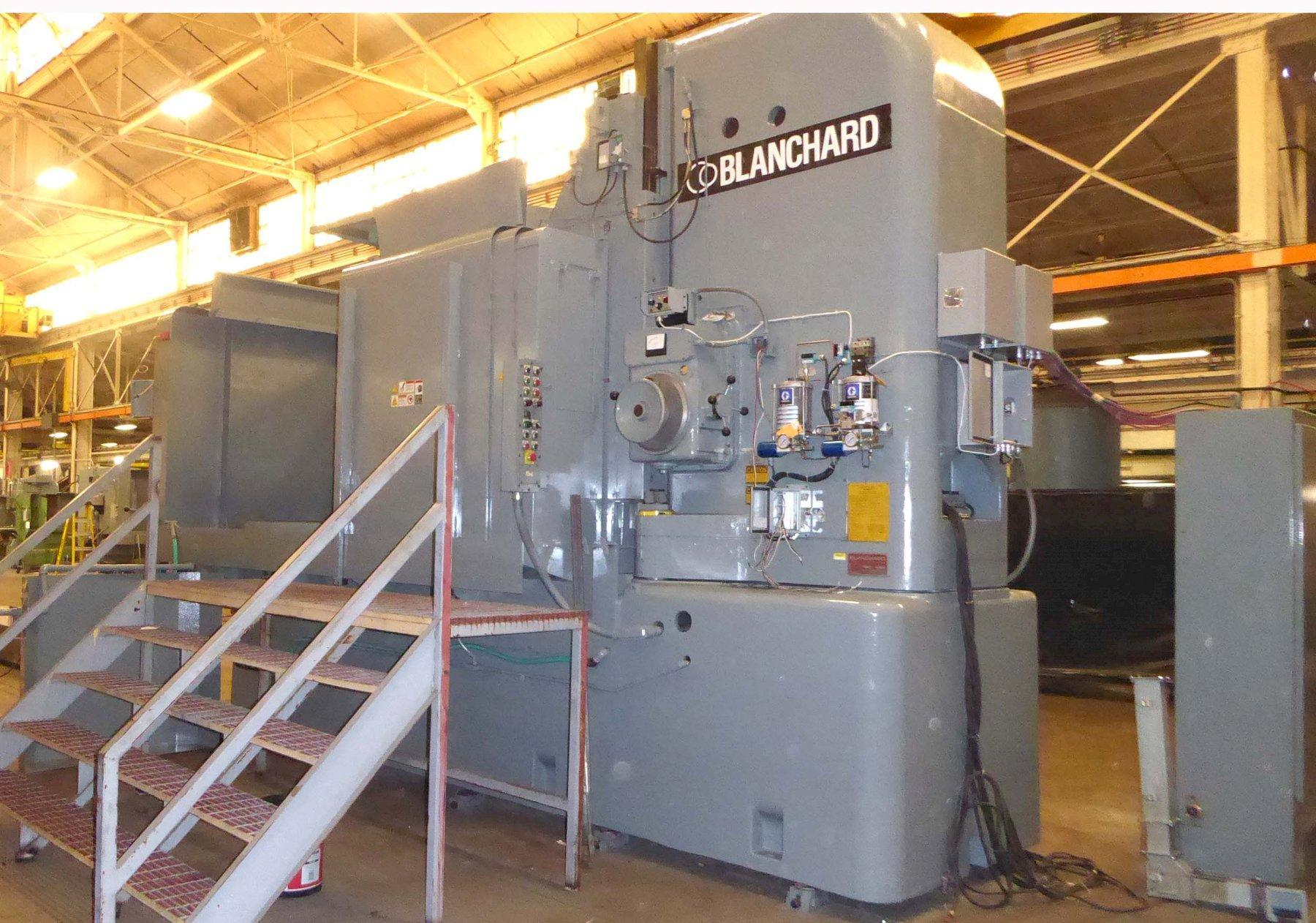 "Blanchard #42HD84, 84"" Geared Head Rotary Surface Grinder"