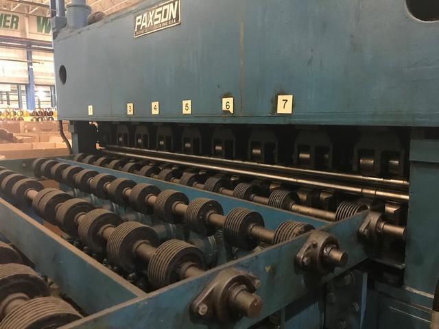 "72"" x .062"" x 45,000# Paxson Cut-to-Length Line"