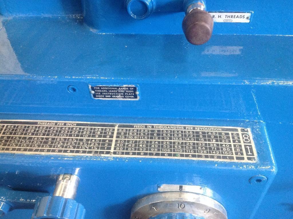 "32"" X 72"" LODGE & SHIPLEY POWERTURN GAP BED ENGINE LATHE: STOCK #66199"