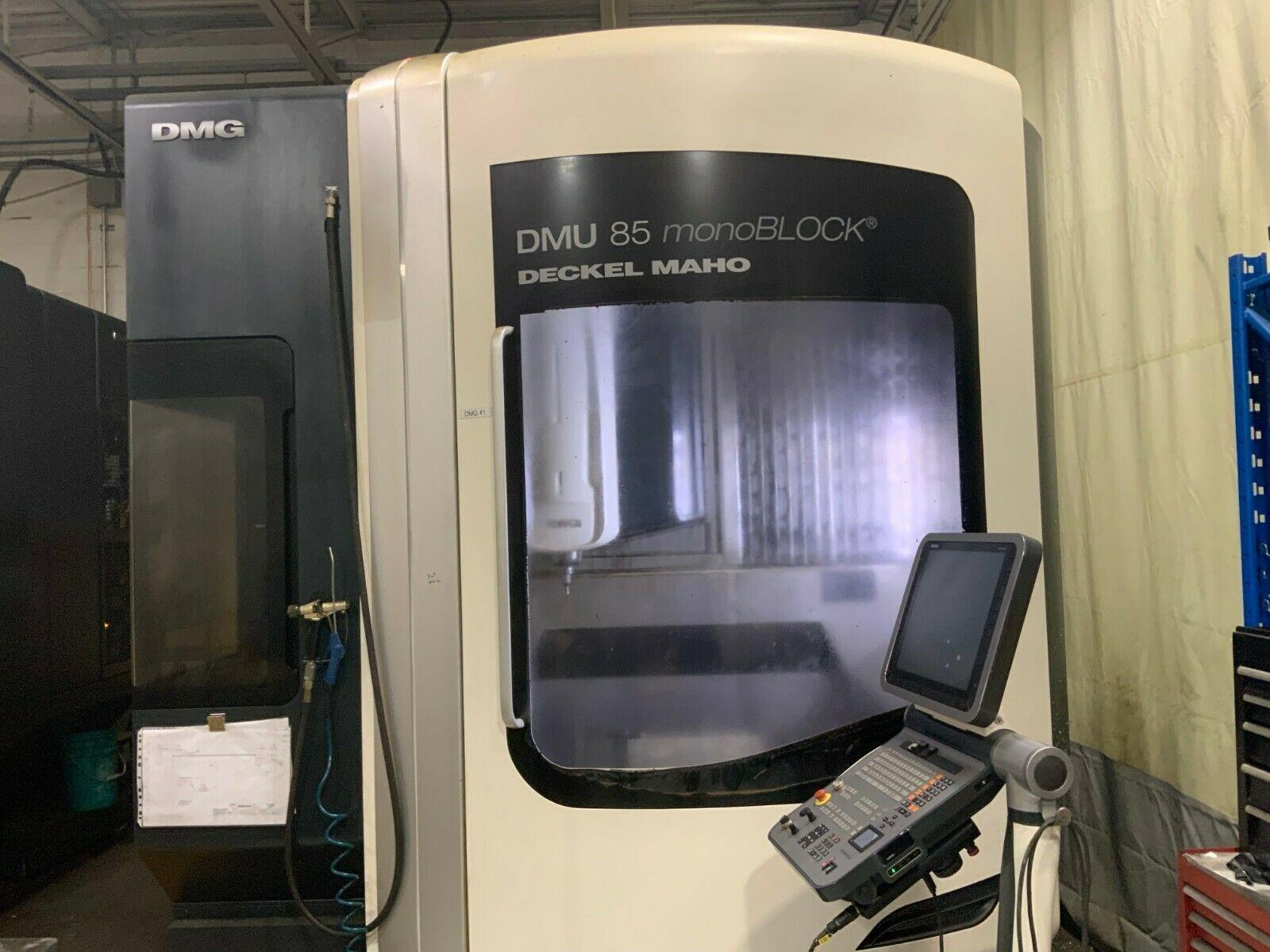 DMG DMU 85 monoBLOCK CNC Vertical Machining Center