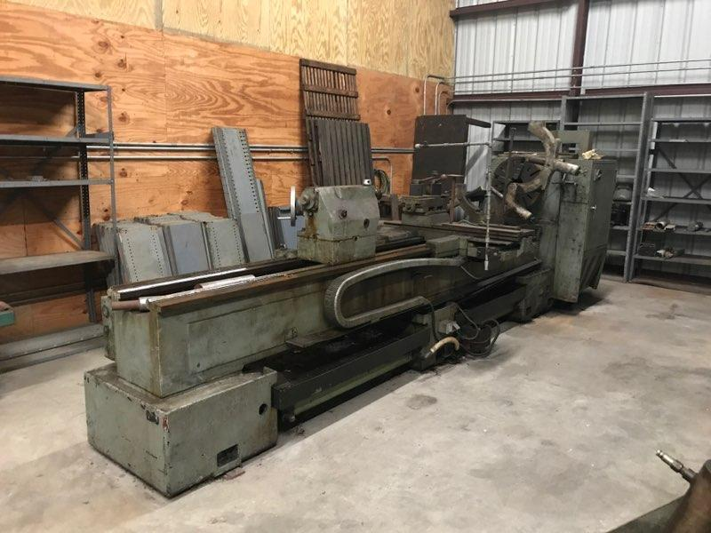 "30"" x 120"" Summit 30-4x120 Gap Bed Engine Lathe"