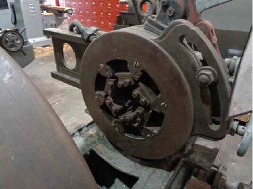 "4"" Landis Stationary Die Head Pipe Threading Machine"