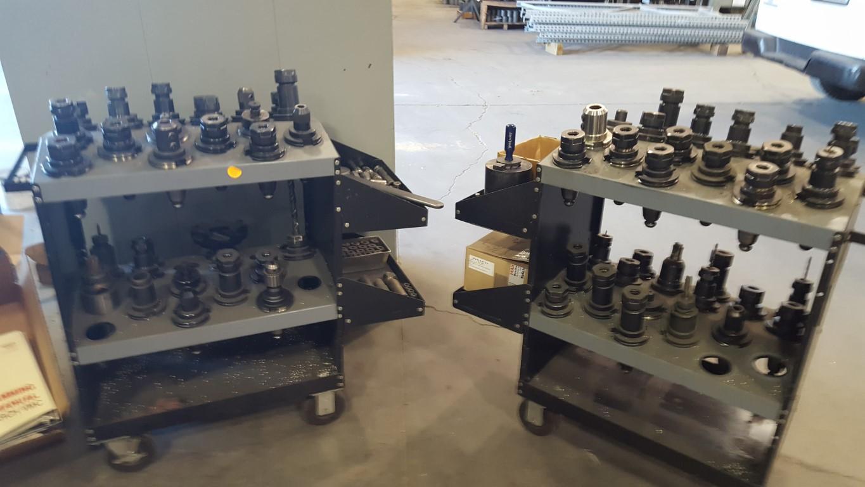 "MONARCHMonarch VMC-45B, Fanuc 16M, 30"" x 18"" x 24"" , chip conveyor, assorted tool holders"