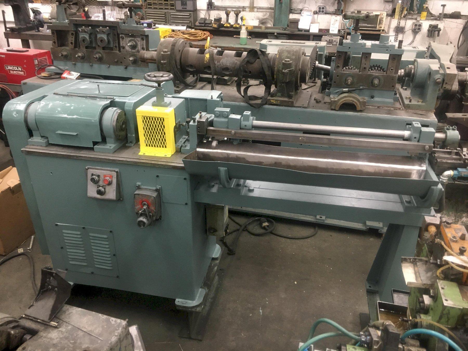"""3/16"""" Shuster 1AVS-3 Straighten and Cutoff Machine"""