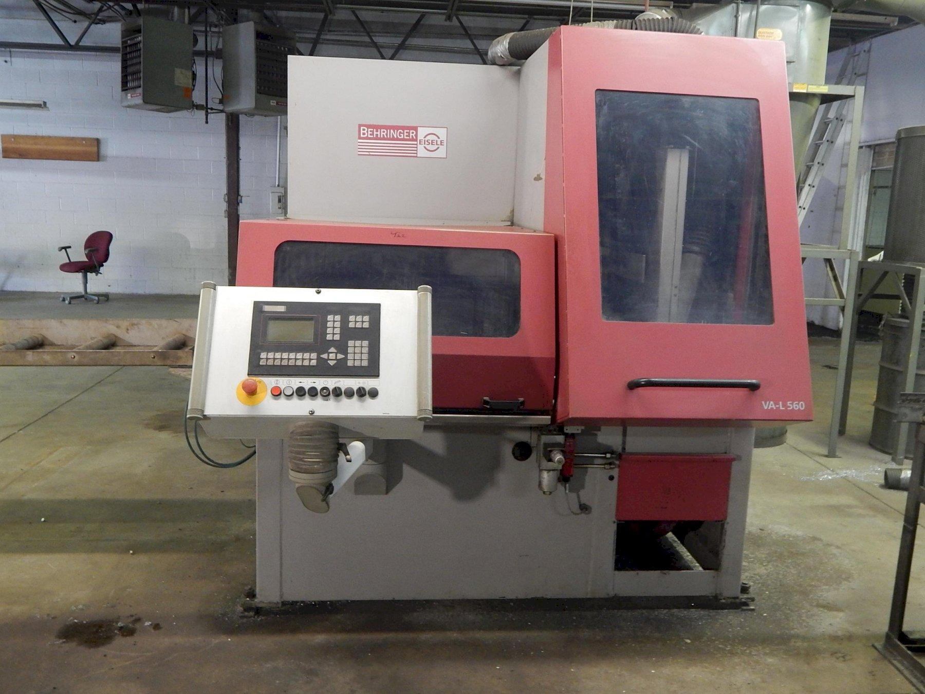 USED BEHRINGER / EISELE MODEL VAL-560 NC-H FULLY AUTOMATIC NON-FERROUS CIRCULAR SAW, Stock # 10831