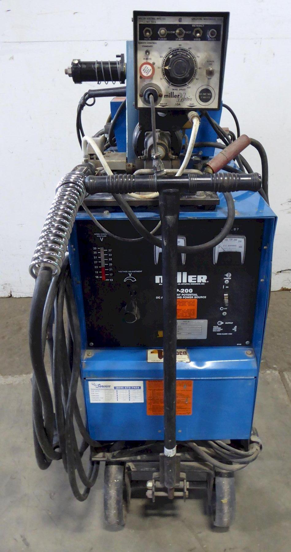 Miller CP-200 Constant Potential DC Arc Welding Source