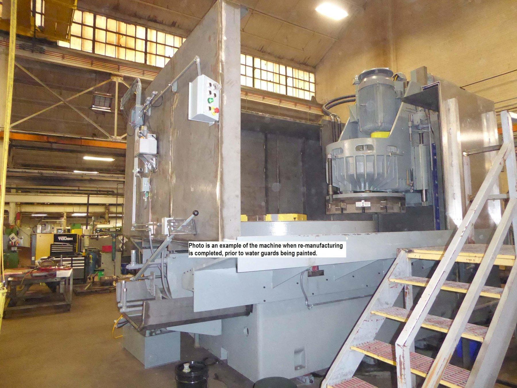 Blanchard #48HD-96, 96″ Geared Head Vertical Spindle Rotary Surface Grinder, 250 HP, Re-manufactured